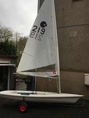 topper byte sailing dinghy