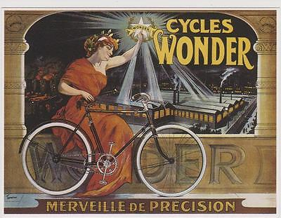 carte postale - VELO WONDER - CYCLE - MERVEILLE DE PRECISION