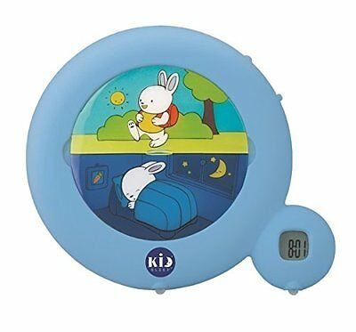 Claessens' Kids Sleep Classic BLUE Toddler Wake Training Alarm Clock