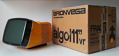 tv Brionvega Algol 11 vr , Made in Italy 1964, Design M. Zanuso, R. Sapper