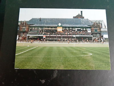 "SHEFFIELD UNITED  BRAMALL LANE OLD STAND  1970s    6""x4""  REPRINT"