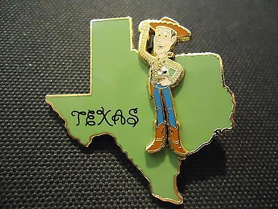 Disney State Character Pins Texas Woody Toy Story Pin