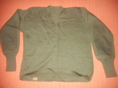 Great Britain-1950 British Army - Parachute V Neck Wool  Pullover  1950