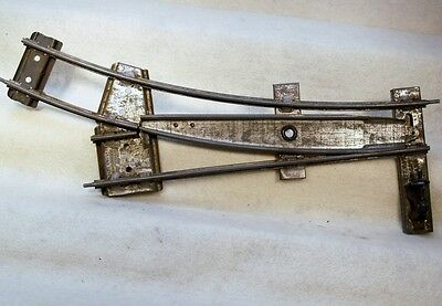 Hornby Two Rail Manual Track Switch From The Early 1900's