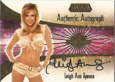 """Benchwarmer 2007 Gold Edition -  #19 of 30 """"Leigh Ann Spence"""" Autograph Card"""