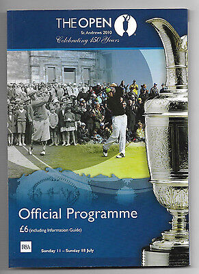 2010 British Open Golf Championship (ST. ANDREWS) Official Programme