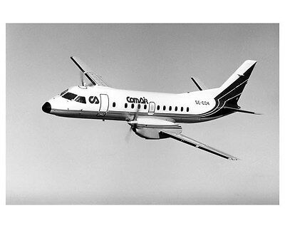 1984 Saab Fairchild 340 Factory Photo ub0176