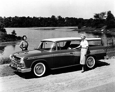 1957 Rambler Factory Photo ub0140