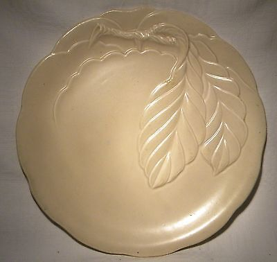 "Art Deco  Clarice Cliff Newport Pottery9"" Relief Moulded Fruit   Plate"