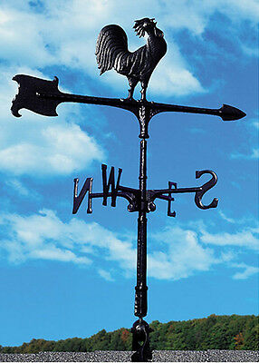 "Whitehall 30"" Accent Rooster Weathervane - QUICK & FREE Ship Includes Roof Mount"