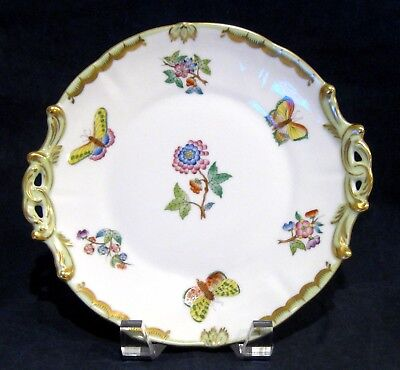 Herend Queen Victoria Square Handled Cake Plate 430/VBO
