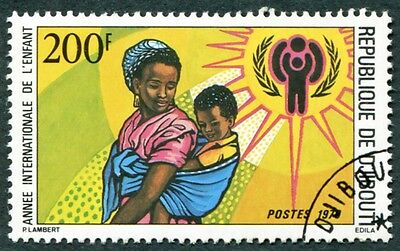 DJIBOUTI 1979 200f SG754 used NG International Year of the Child d #W29