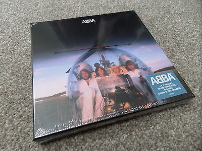 """ABBA - ARRIVAL -..... 4 x COLOURED 7"""" BOX SET..(NUMBERED - DELETED...SEALED)"""