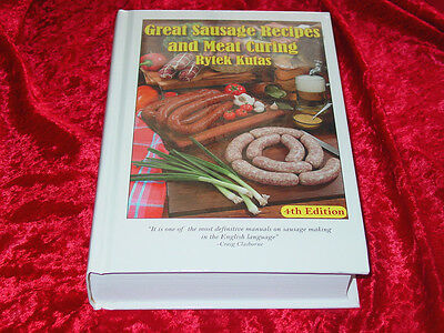Great Sausage Recipes and Meat Curing Book~bible on Sausage Making~Smokers~NEW