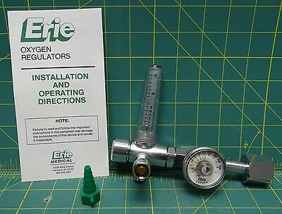 Erie Oxygen Pressure Regulator 474-046, NSN 6680-01-174-6276