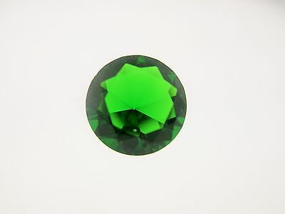 2.85ct Loose Round Cut Lab Created Emerald Gemstone 10mm