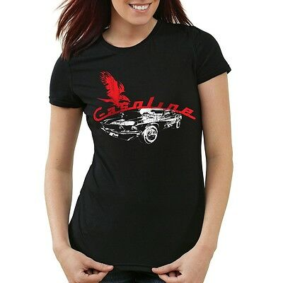 Muscle Car Damen T-Shirt auto gas death mustang motor ford rocker camaro ps usa