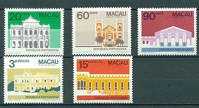 Macau 1984 Architecture Type Of 1982 Mnh Very Fine
