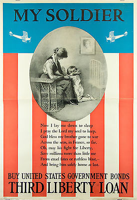 WWI Third Liberty Loan poster MYSOLDIER