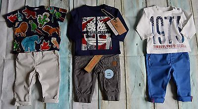 New & Used Baby Boys Designer Clothes Bundle D&G Timberland Next F&F 3-6 Months