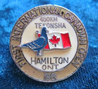 1981 First International Canadian Open Sponsored by Tekonsha Pigeon Race?