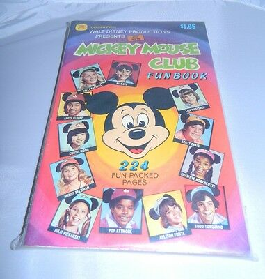 The New Mickey Mouse Club Fun Book #11190 (Oct 1977, Western Publishing) Disney