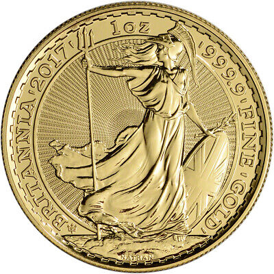 2017 Great Britain Gold Britannia £100 - 30th Anniversary - 1 oz - BU