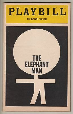 "Mark Hamill   DEBUT   ""The Elephant Man""   Playbill 1981  Carole Shelley"