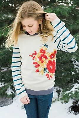 PERSNICKETY Penny Lane FLORA Sweater, Size 7 NWT