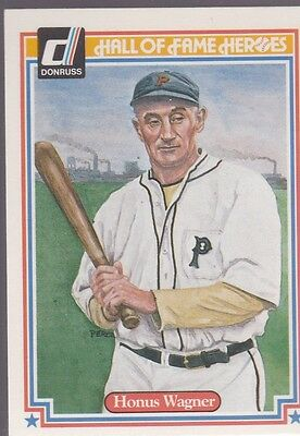 1983 Donruss Hall Of Fame Heroes Honus Wagner #5 Pirates Nmmt/Mint *53164