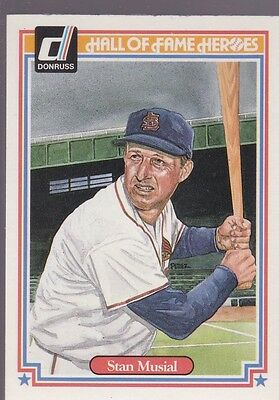 1983 Donruss Hall Of Fame Heroes Stan Musial #32 Cardinals Nmmt/Mint *53161