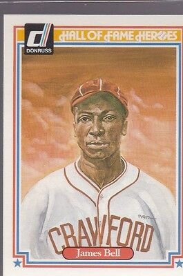 1983 Donruss Hall Of Fame Heroes James Cool Papa Bell #25 Nmmt/Mint *53185