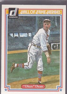 1983 Donruss Hall Of Fame Heroes Dizzy Dean #29 Cardinals Nmmt/Mint *53189