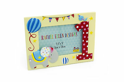 Beautiful Baby Colourful 1st Birthday Keepsake Photo Frame RE117