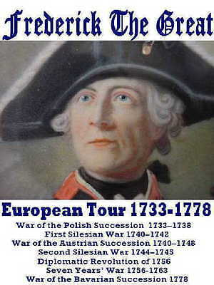 Frederick The Great concert tshirt Prussia