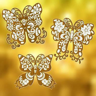 Floral Butterflies 10 Machine Embroidery Designs Cd 2 Sizes