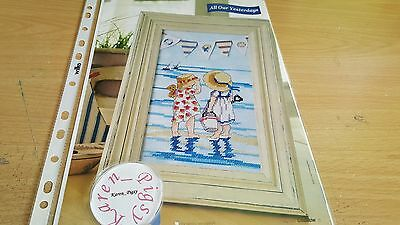 Cross Stitch Chart All Our Yesterdays Chart By The Sea