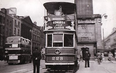 re irish photograph ireland dublin tram 228 transport