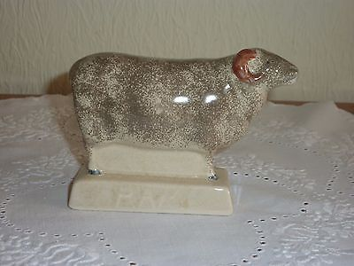 Lovely Rye Pottery Spongeware Handpainted  Ram