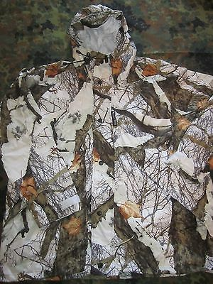 Rivers West JACKET & TROUSERS SNOW white CAMO realtree bushcraft HUNTING Large