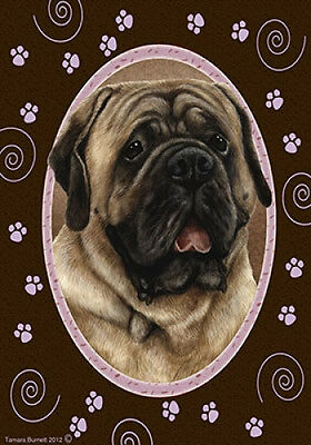 Large Indoor/Outdoor Paws Flag - Fawn Mastiff 17113