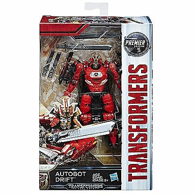 Transformers The Last Knight Premier Movie Deluxe Drift Action Figure NEW