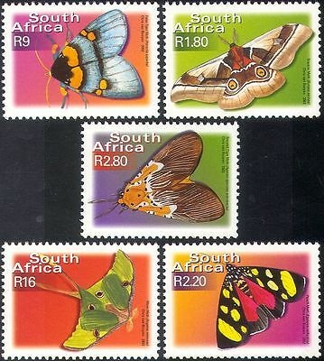 RSA/South Africa  Butterflies/Insects/Nature 5v set defins.  ref:s2021