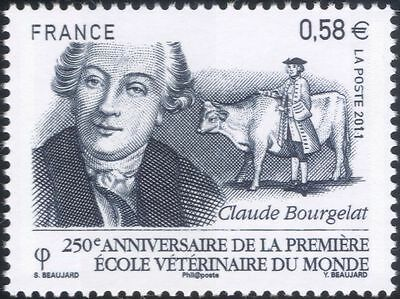 France 2011 Bourgelat/Veterinary School/Cattle/Animals/Medical/Nature 1v  n45292