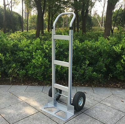 2 Wheel Aluminum Hand Truck / Dolly Moving Cart Boxes 550 lb Capacity US