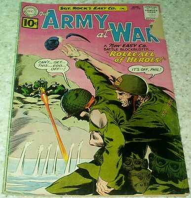 Our Army at War 109, VG/FN (5.0) 1961, 40% off Guide!