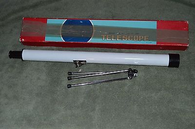 Vtg Selsi 261 Telescope Original Box Made in Japan 40 x 40 mm Bright Sharp Image