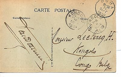 Great Dakar, Senegal to Kongola via Boma, Belgian Congo.1919. Great strikes VF