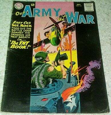 Our Army at War 134, VG/FN (5.0) 1963, 40% off Guide!