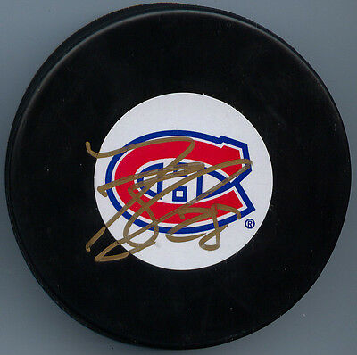 Nathan Beaulieu Montreal Canadiens Hand Signed Puck Autograph Auto